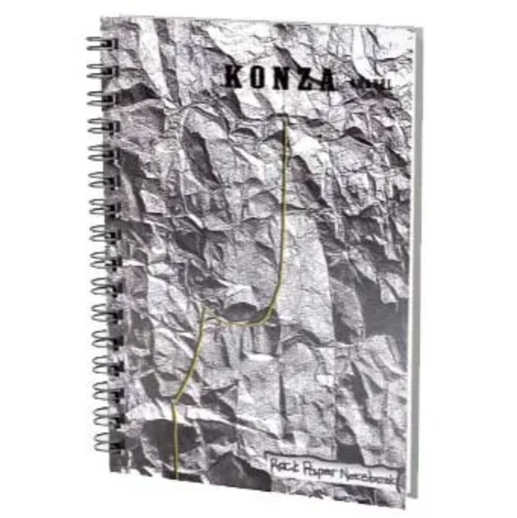 rock paper notebook