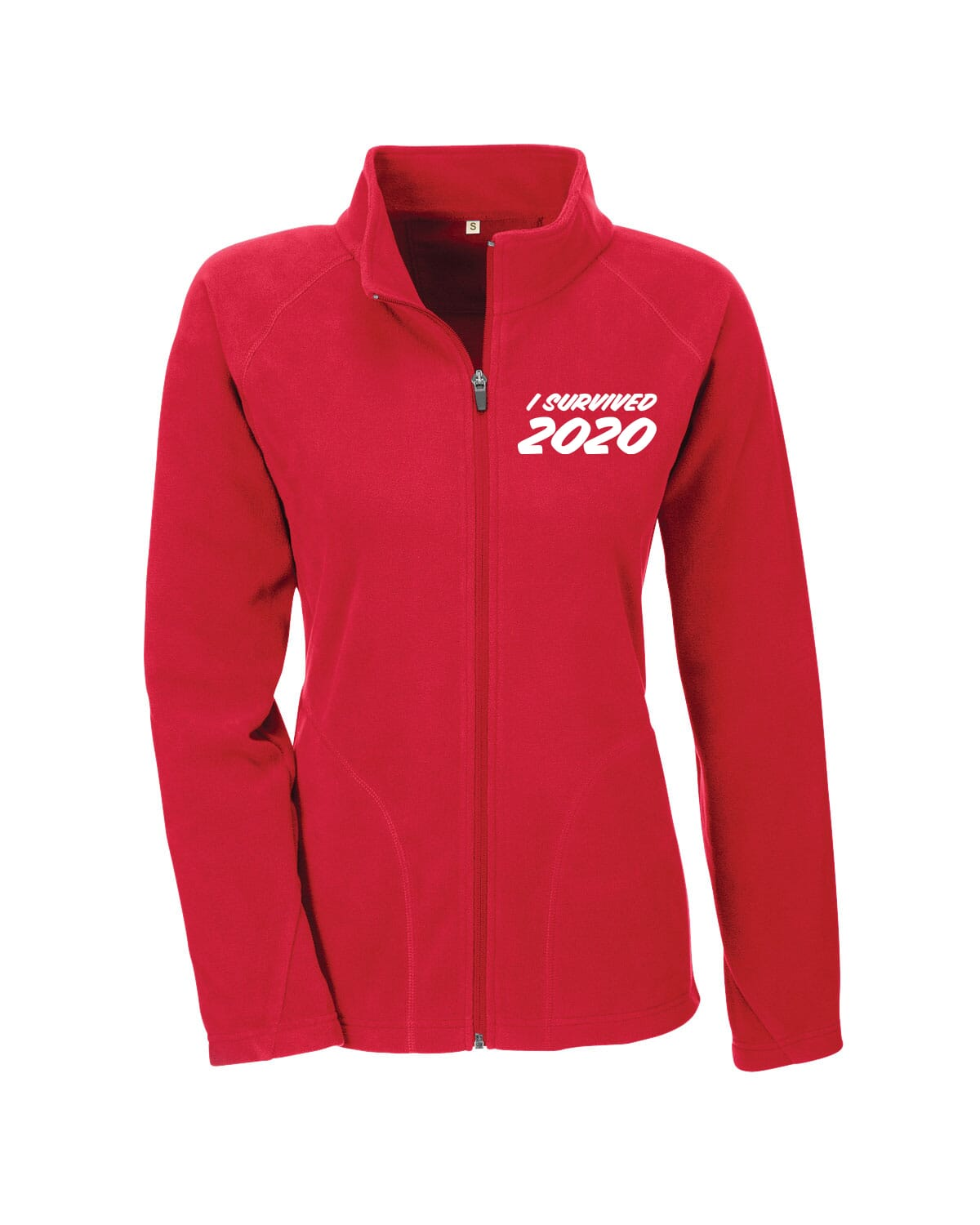 Microfleece with I Survived 2020 saying