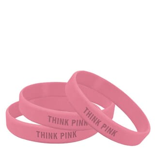 Pink Awareness Bands