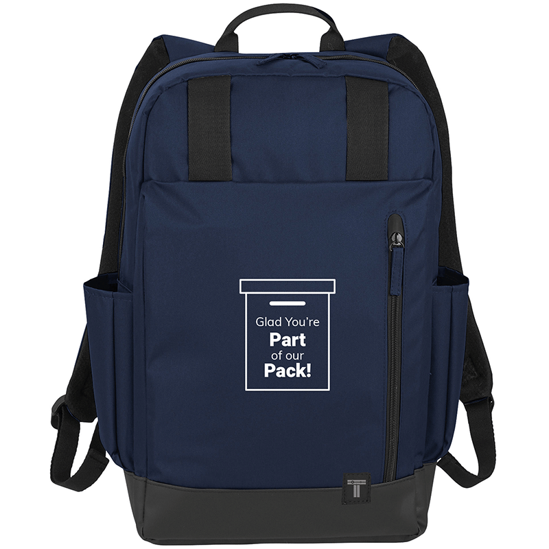 Backpack with Employee Appreciation Slogan