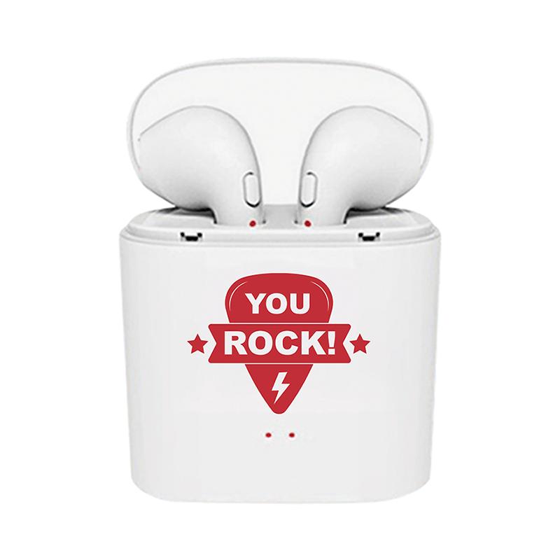 Bluetooth Earbuds with Employee Appreciation Slogan