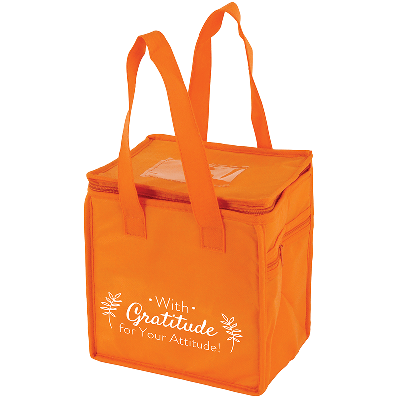 Lunch Cooler Bag with Employee Appreciation Slogan