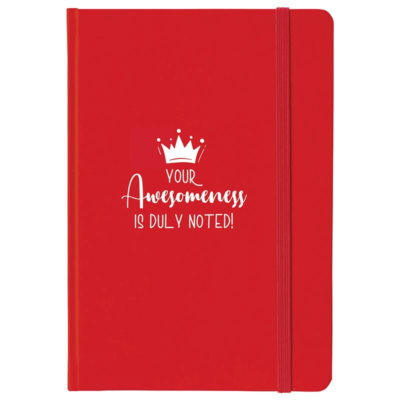 Notebook with Employee Appreciation Slogan
