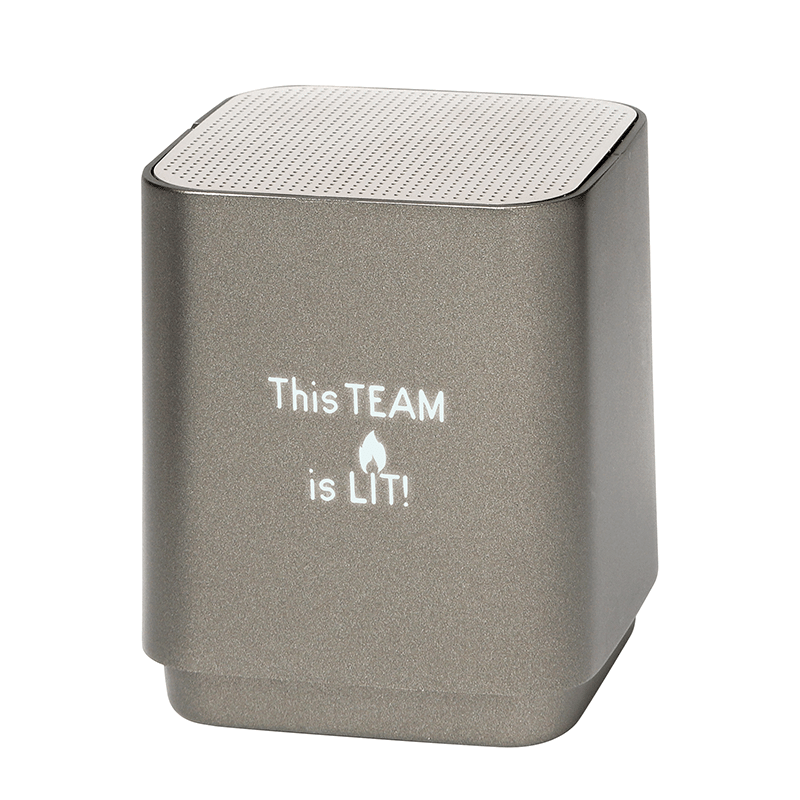 Bluetooth Speaker with Employee Appreciation Slogan
