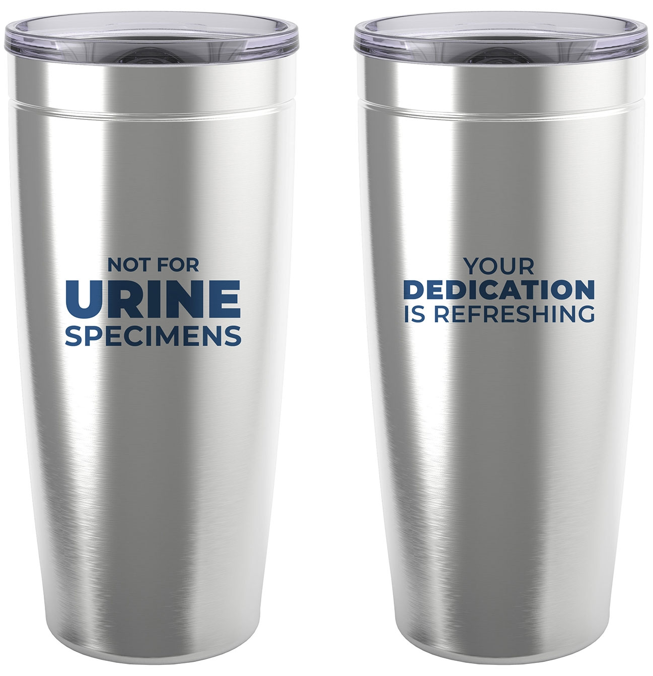 Travel mug with nurses appreciation funny saying