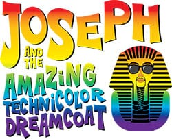 joseph and the amazing technicolor dreamcoat logo