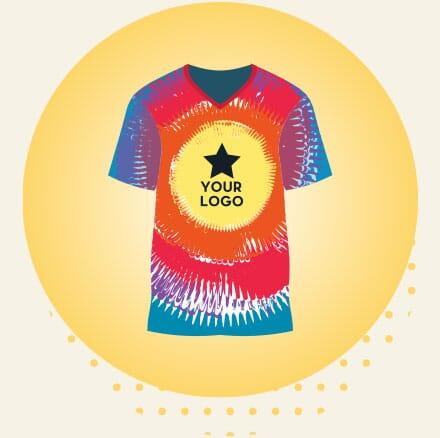 Customized Tie-Dye T-Shirt