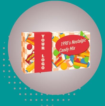 Retro Candy in a Custom Box