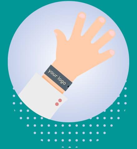 Customized Slap Bracelet