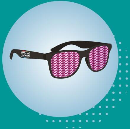 Retro Sunglasses with logo