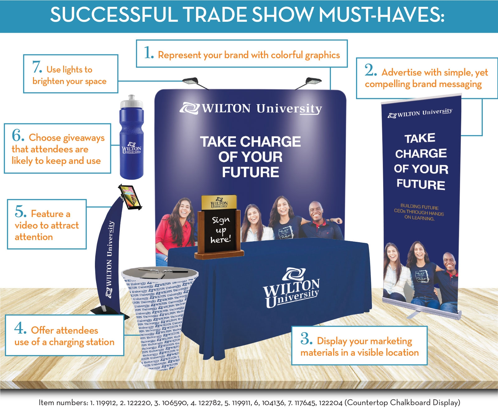Successful Trade Show Booth Must-Haves
