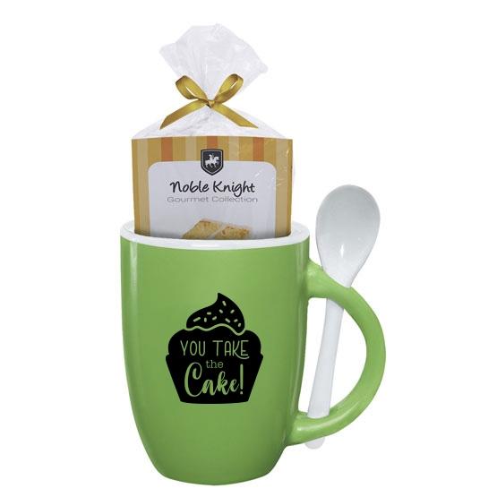 Mug cake gift set with teacher appreciation quote