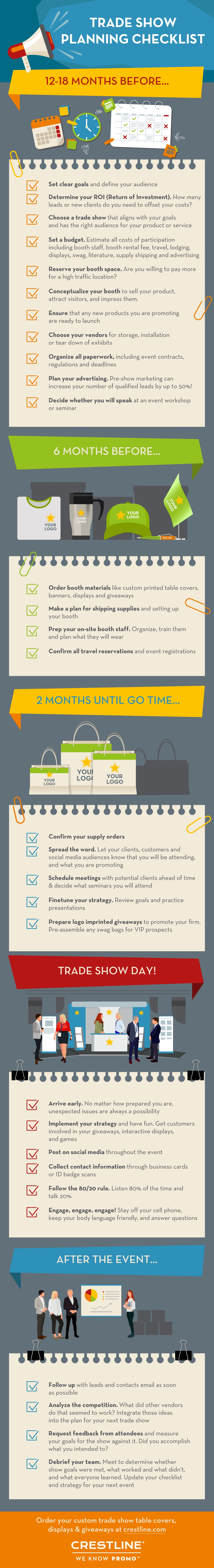 Trade Show Planning Infographic