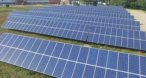 Crestline Solar Array