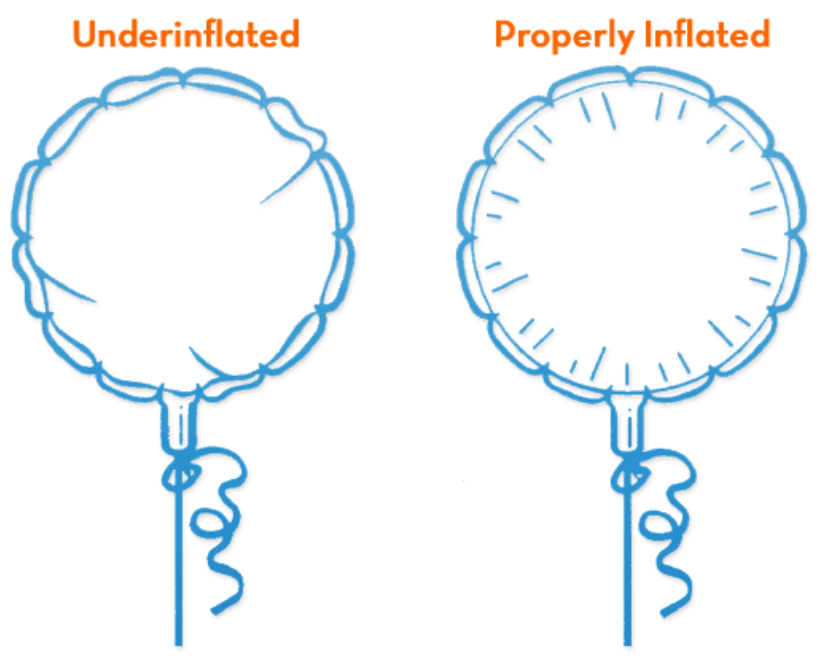 microfoil balloon inflation guide
