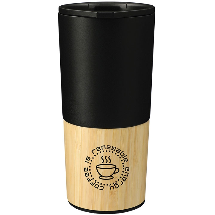 Welly voyager tumbler with coffee saying