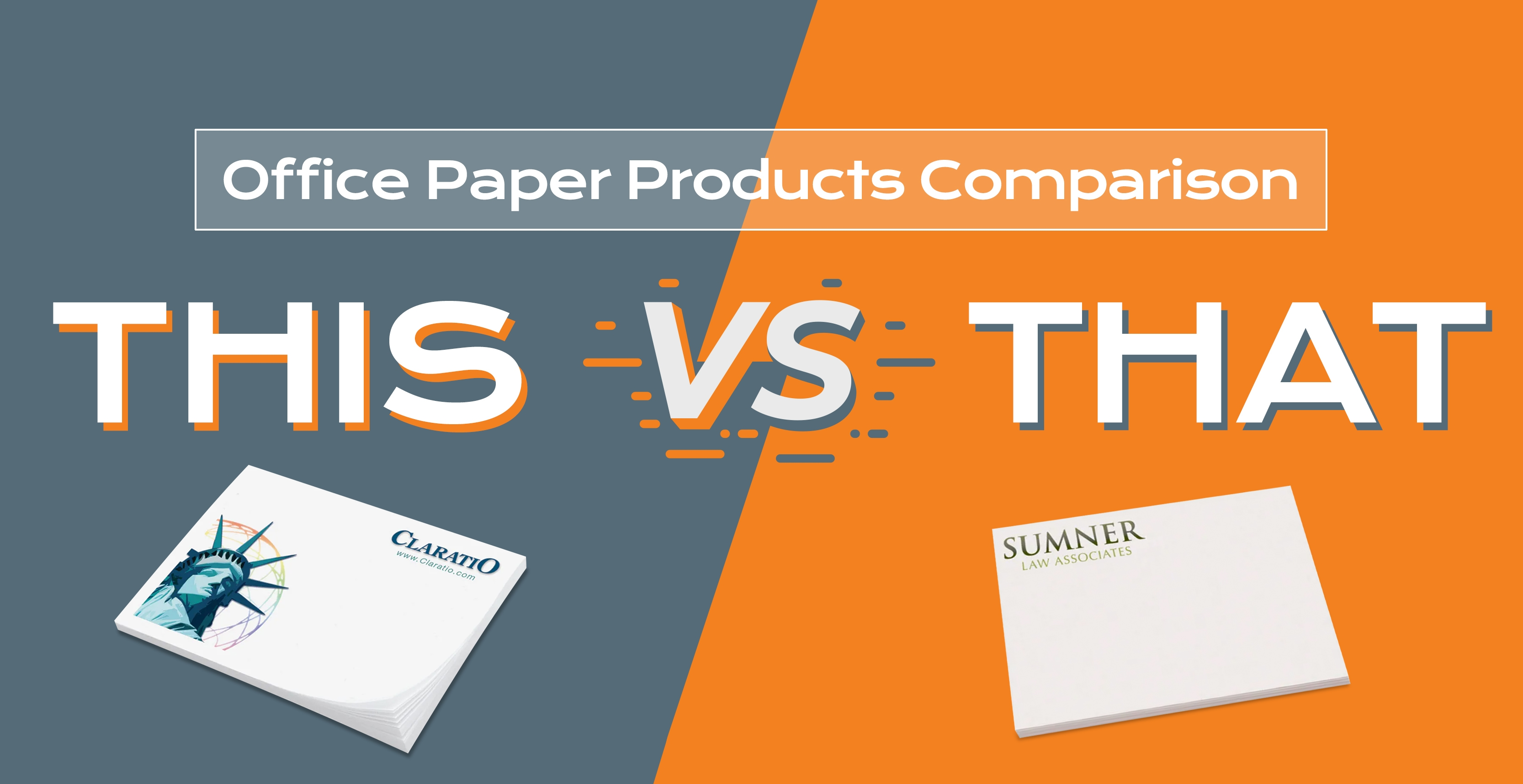 Office paper products comparison