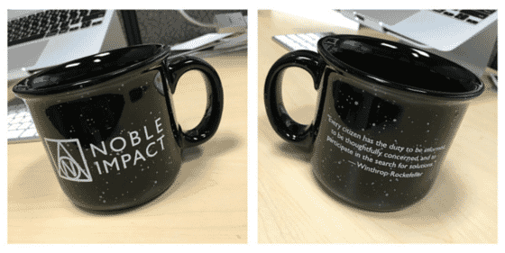Noble Impact Custom Camp Mug