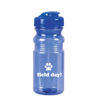 eco water bottle with flip lid