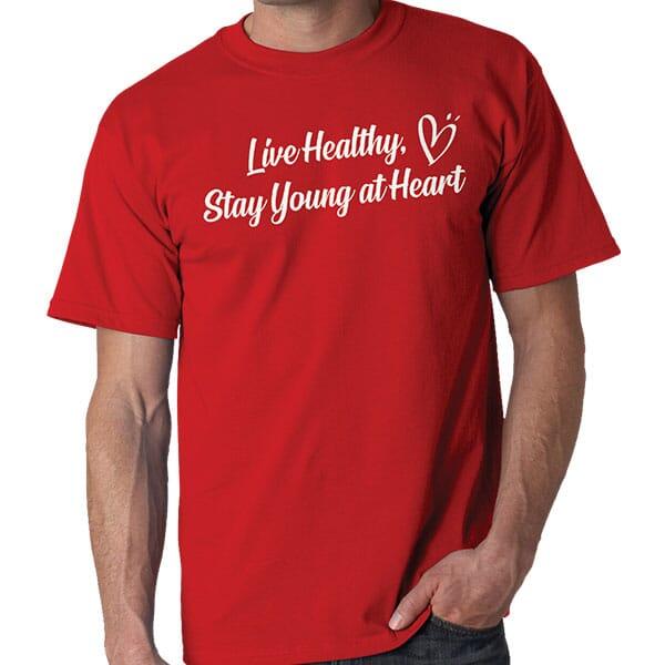 Red Gildan T-Shirt
