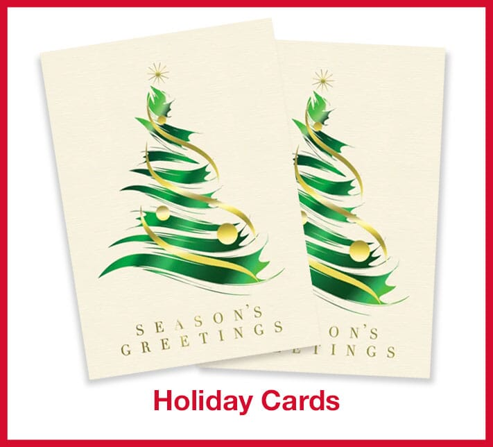 Customized holiday cards
