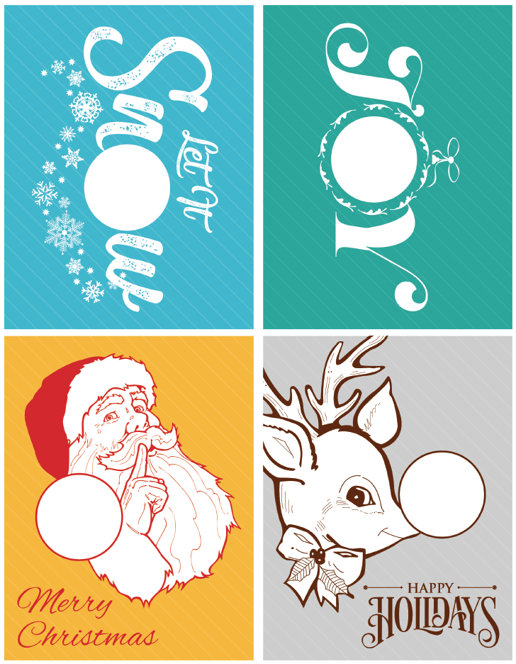 Holiday Printable Cards