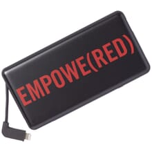 Black mophie power bank travel charger