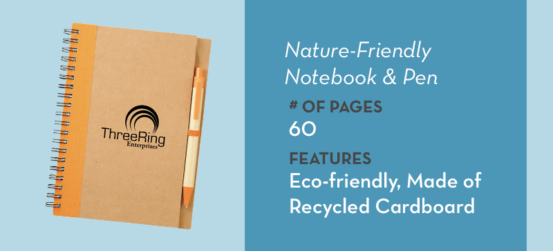 Nature Friendly Notebook
