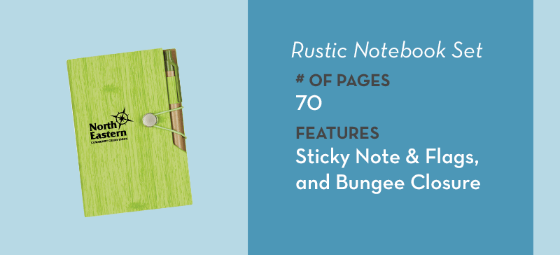 Rustic Notebook Set