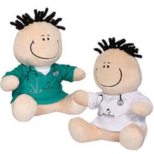 plush doctor and nurse moptoppers
