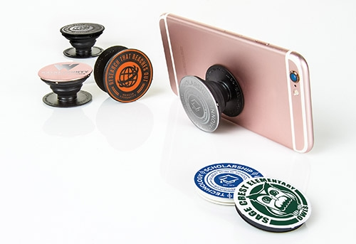 Original and metal popsockets with logos