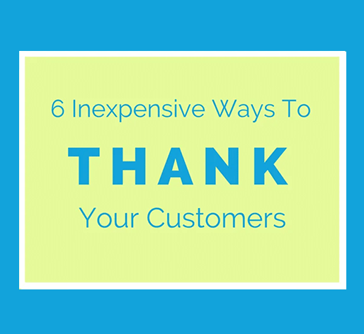 inexpensive customer appreciation ideas
