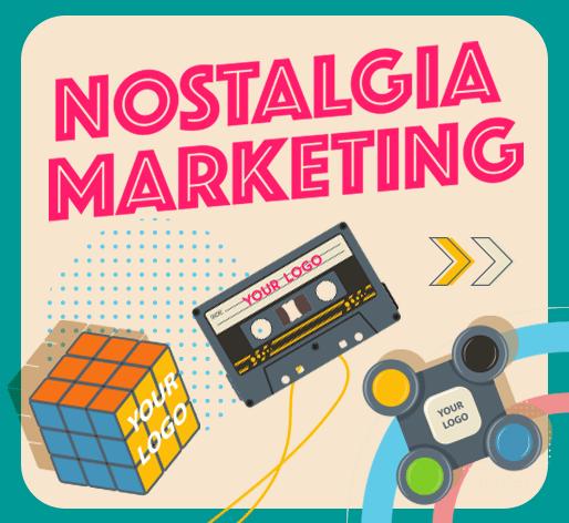 Nostalgic Retro Style Promo Products