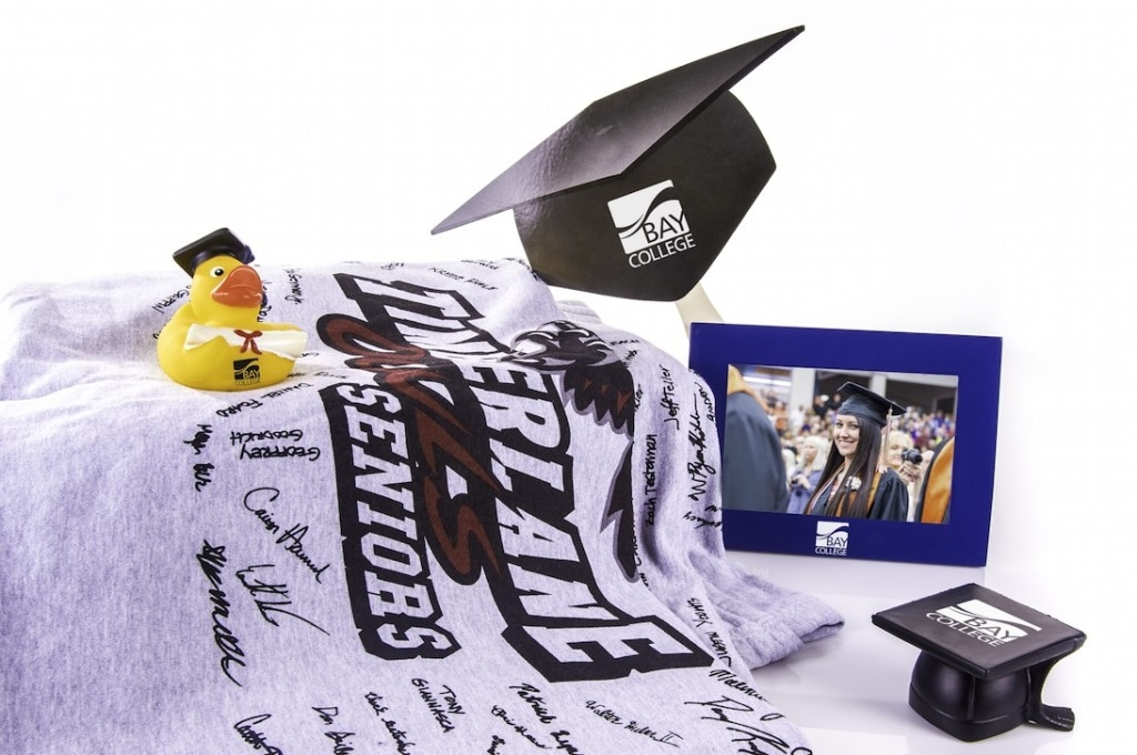 Graduation gifts and giveaways