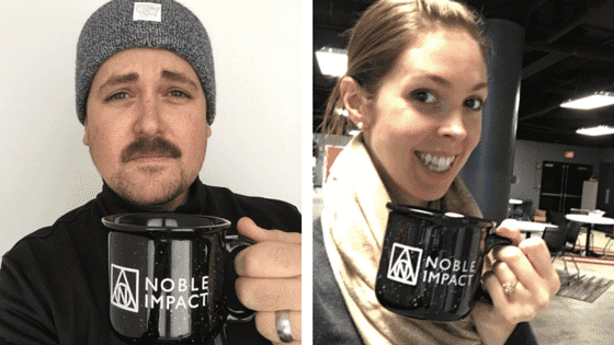Showing Off Noble Impact Custom Camp Mug