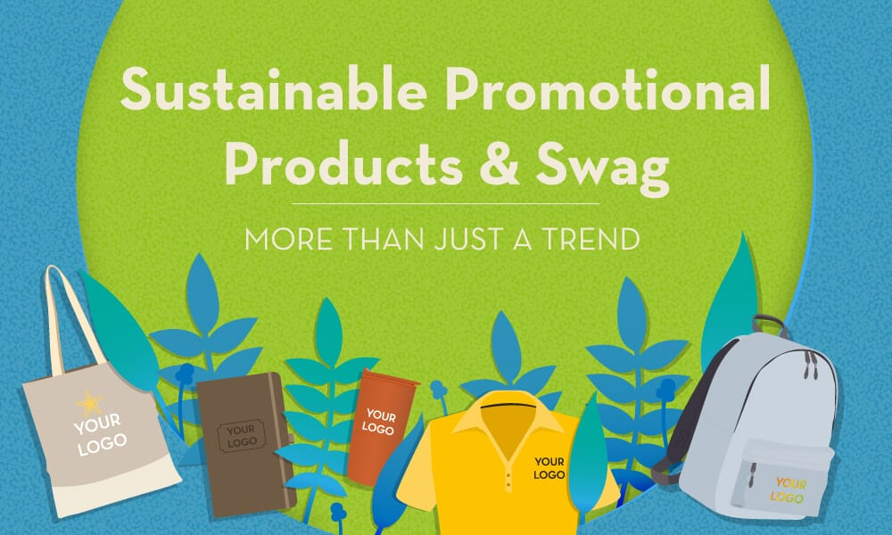 Customized sustainable promotional products