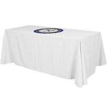 Top Imprint on Table Throw