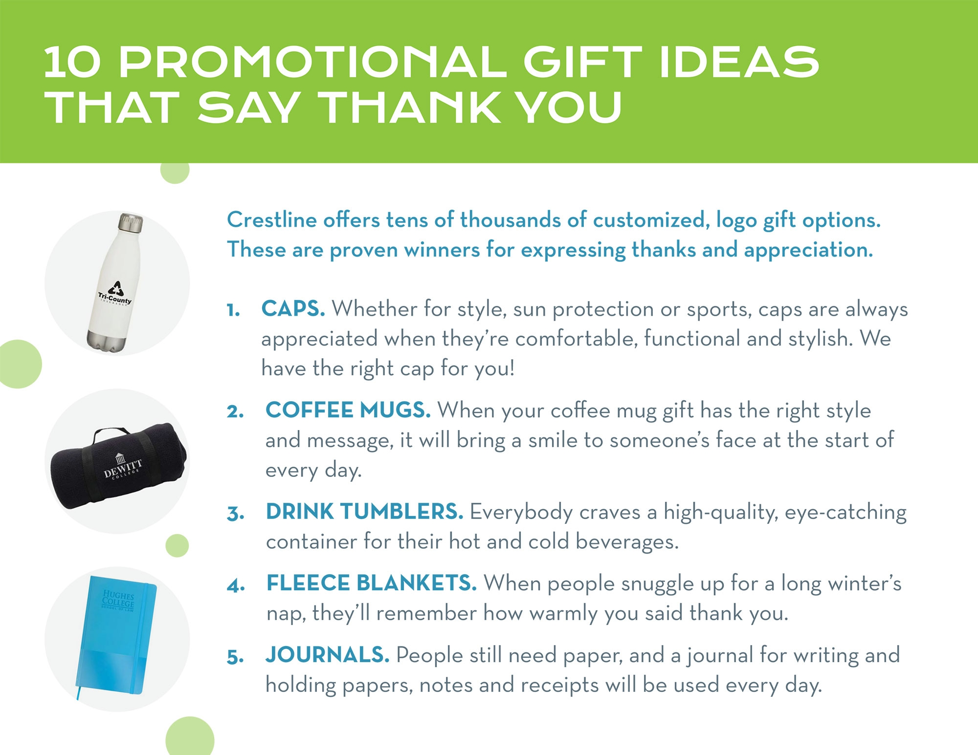 Promotional Gift Ideas to Say Thank You
