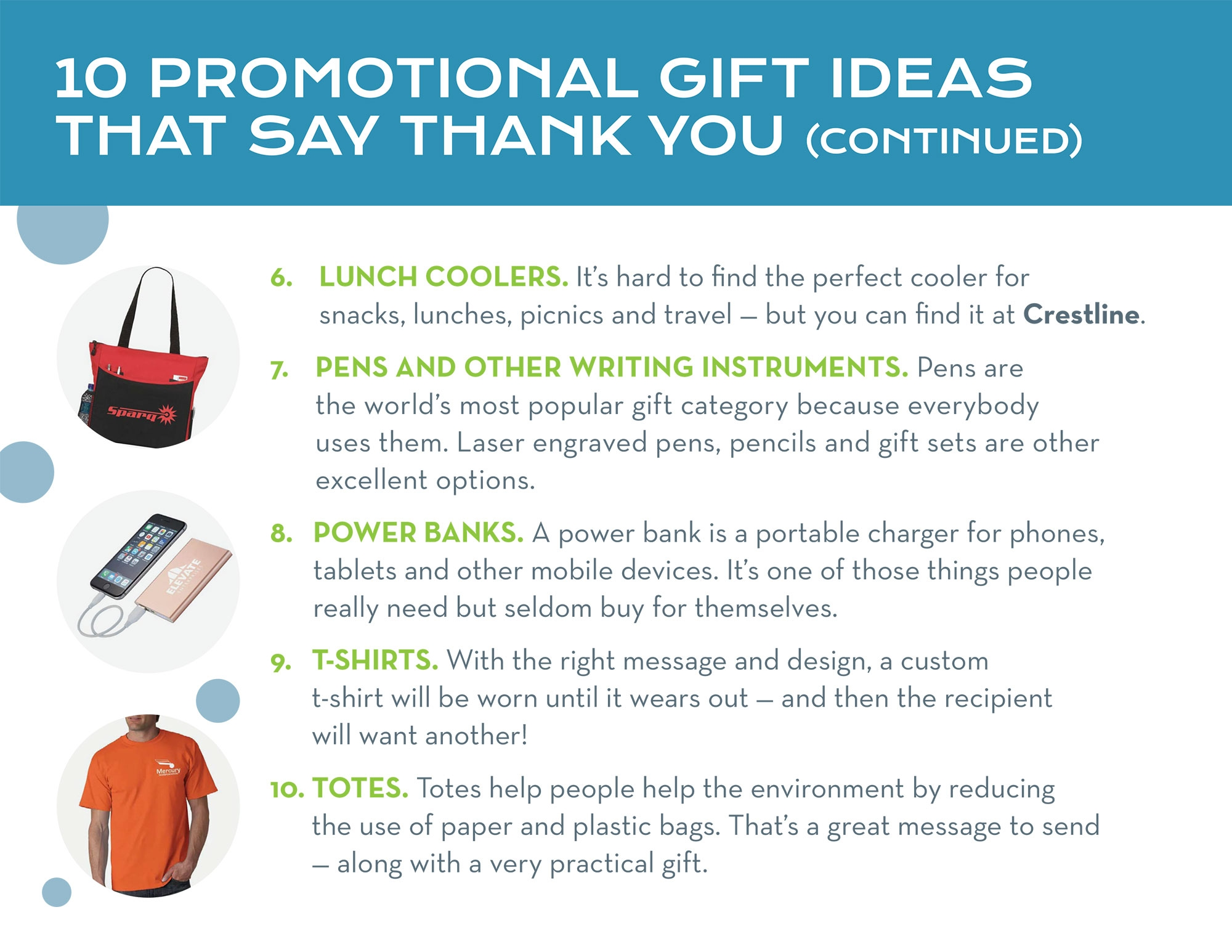 More Promotional Gift Ideas