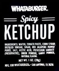 Whattaburger Ingredients