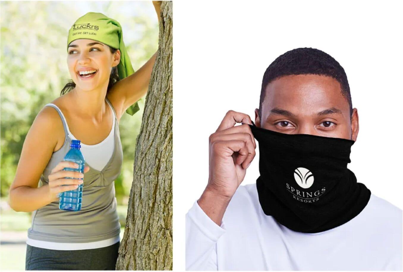 Yowie athletic multi-wear scarf