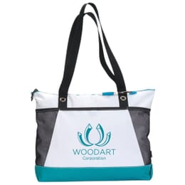 Customized convention tote made of polypropylene material
