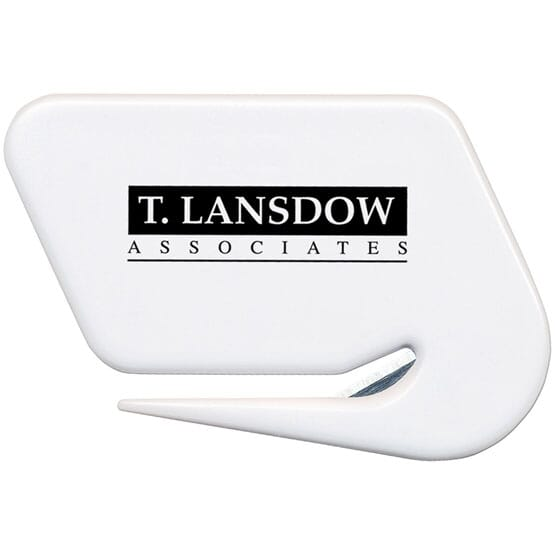 Letter opener with logo