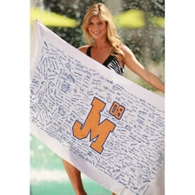 Autographed Beach Towel