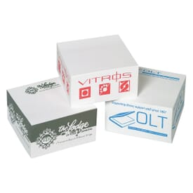 Post-it® Notes Cube w/ Top Sheet Imprint