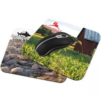 Custom Mouse Pads Personalized with Your Company Logo or Photo