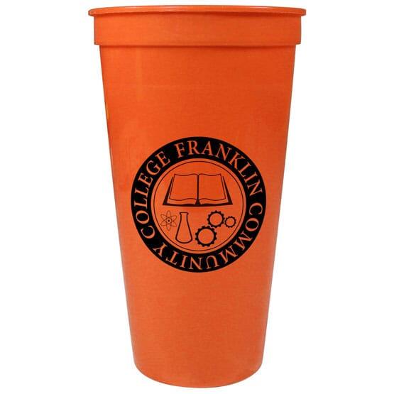 24 oz Solid Stadium Cup