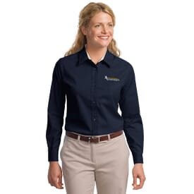 Port Authority® L/S Easy Care - Ladies'