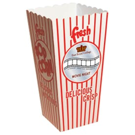 Open Top Movie Popcorn Box