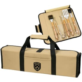 Bamboo Barbecue Set